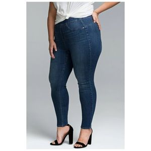 NYDJ Sculpt Legging Pull On Jeans Plus Size 26